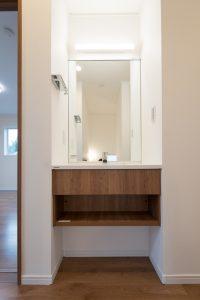 15.2階洗面台(モデルハウス)